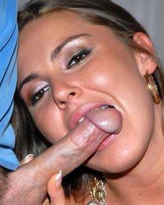 Сексуальные красотки обожают сосать массивные члены