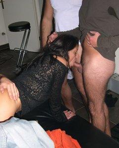 Изменщица жена на шиномонтажке взяла хер за щеку